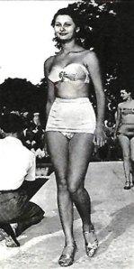 sofia Loren. 1950.
